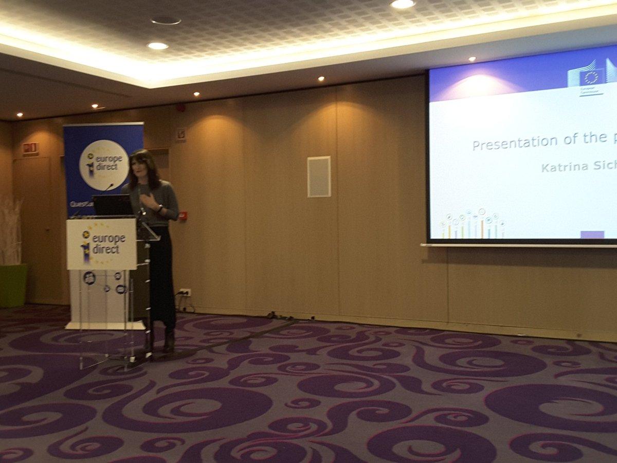 Comienza el seminario  de Formación  para los Centros  de Información  EUROPE DIRECT  #EDIC https://t.co/osKzdiyDqf