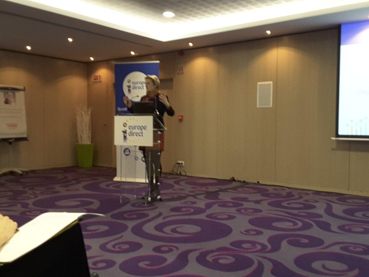 Sixtine Bouygues pide una labor  de creación  de un espíritu europeo. Combatir los miedos #EDIC https://t.co/ibzk6uKYhH