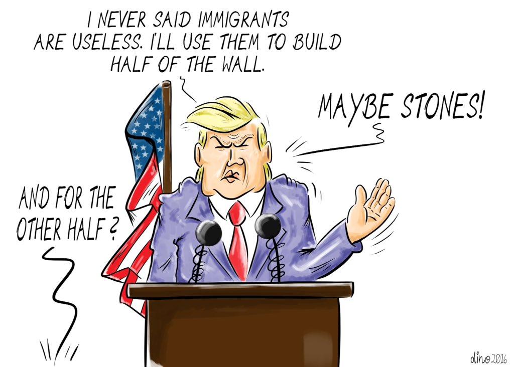 #trump #cartoon #immigrants @cartoonmovement https://t.co/3nc2viWeM9