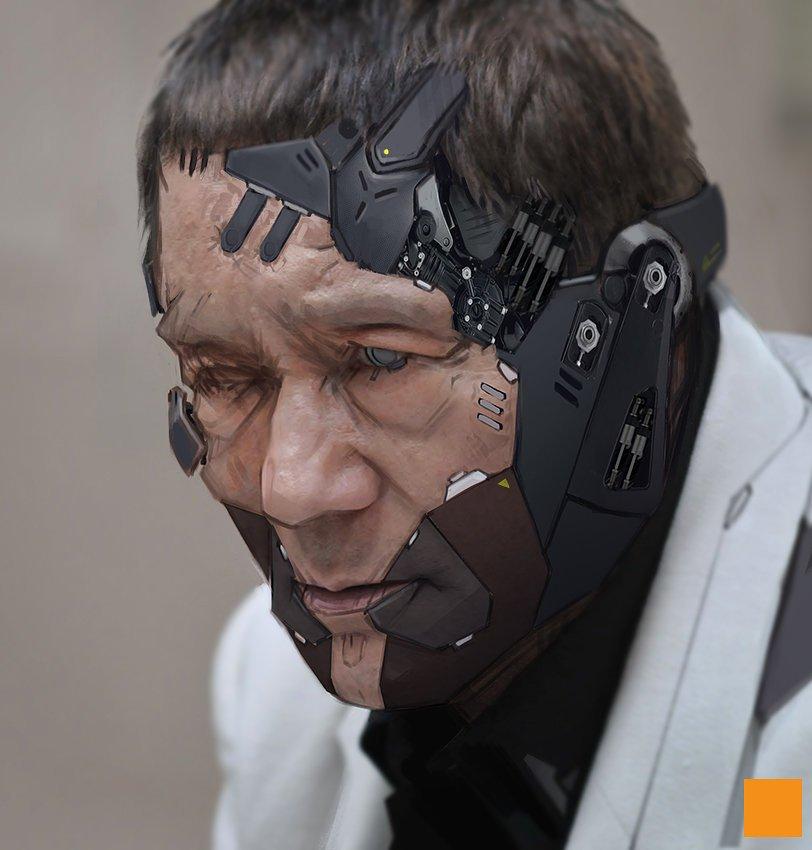 北野たけし×攻殻機動隊と聞いて真っ先にこの画像を思い出した Metal Gear Kitano via @artstationhq