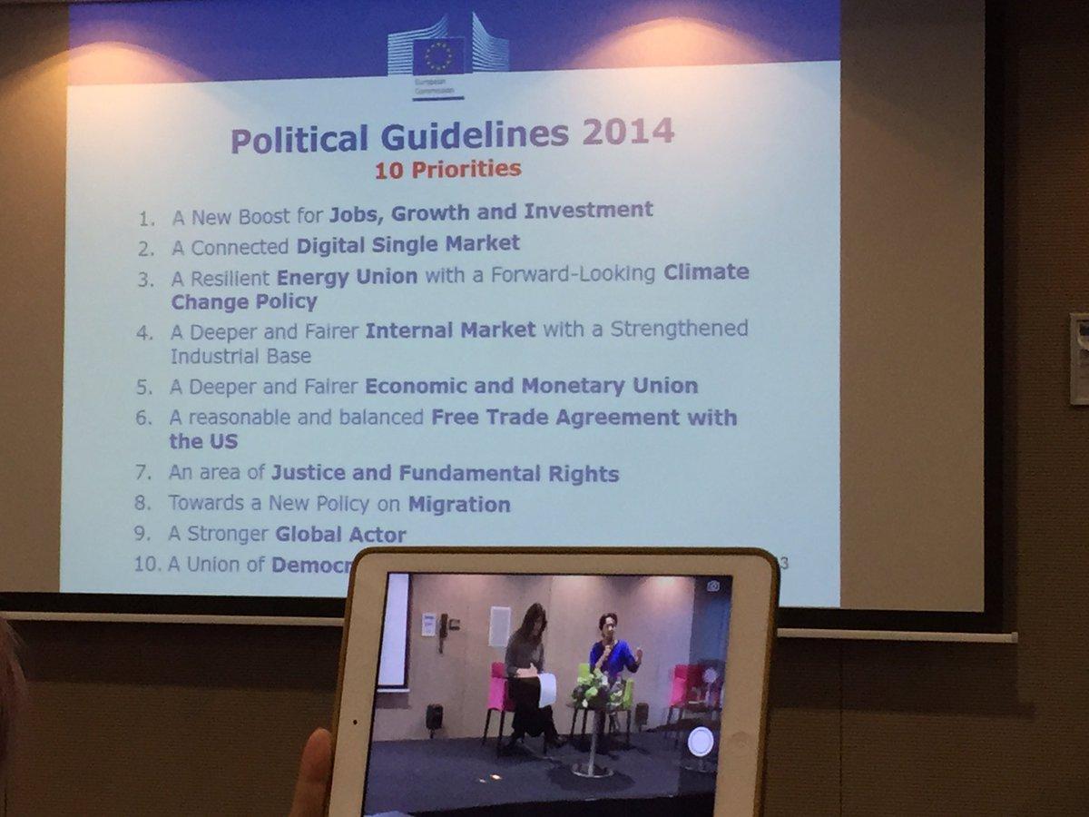 #Segovia presente en la reunión de los #EDIC de la @UEmadrid en Bruselas remarcando las prioridades de la #UE https://t.co/rCn7bXQfNx