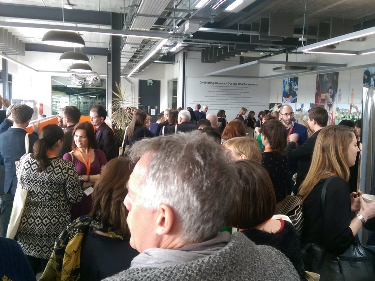 #CreativeNationUK being English = being unable to resist a queue https://t.co/MmglaKyRvm
