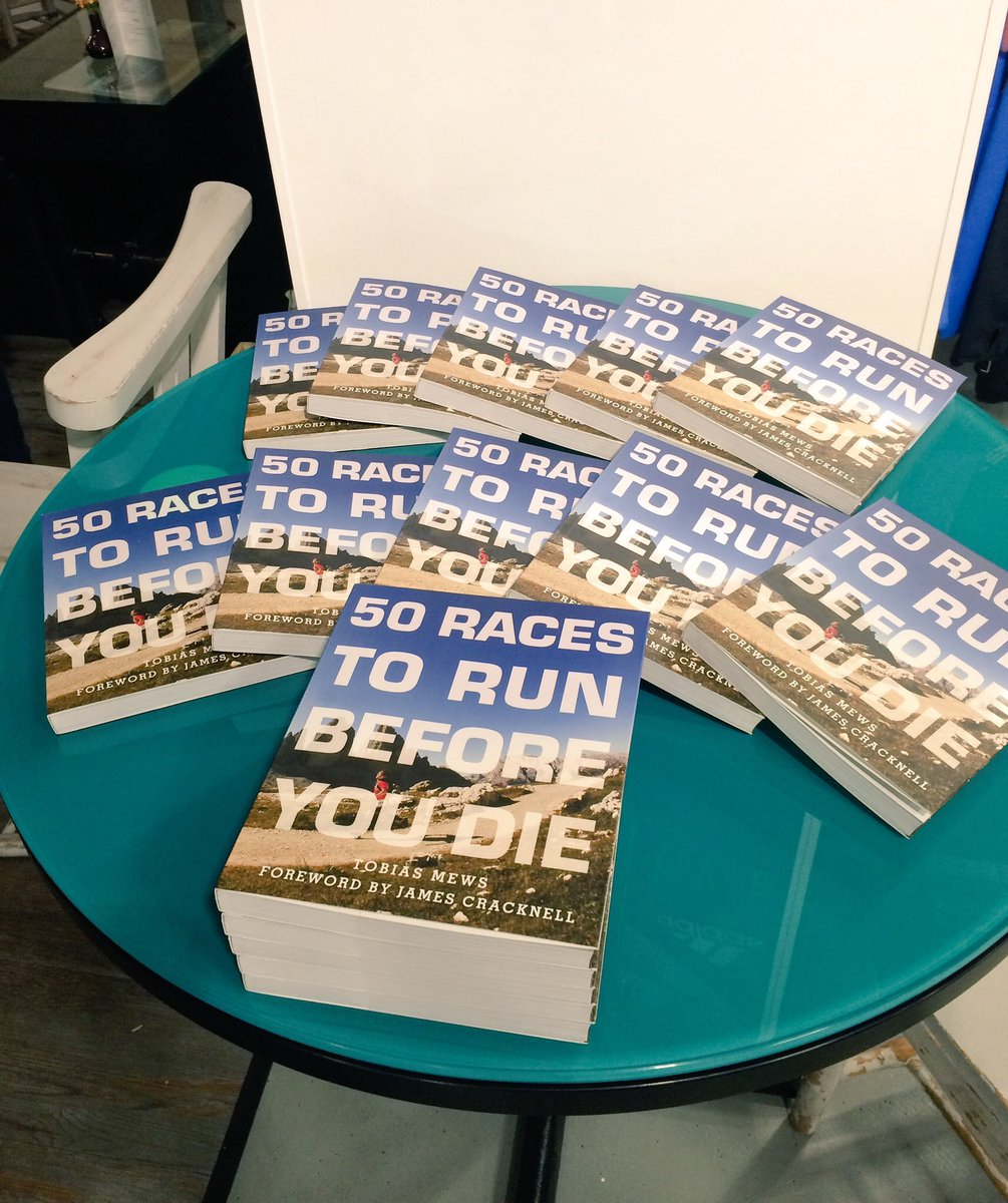 Today I officially become a published author! https://t.co/AlodmgyNWk 50 Races To Run Before you Die is out now! https://t.co/kK1LZKhtoS