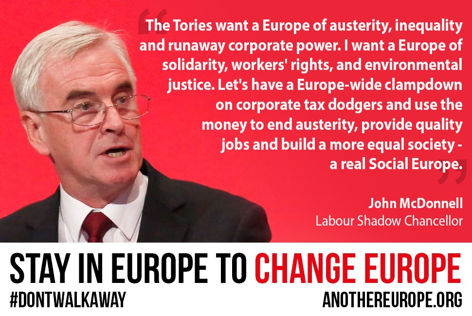 Image result for another europe is possible john mcdonnell