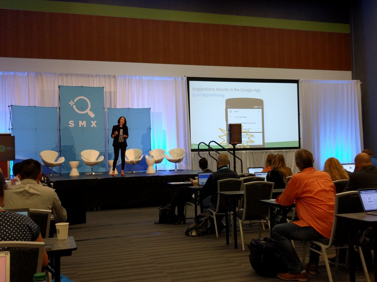 @marrrr @Suzzicks teaching app indexing hacks to #SMX early risers.  Thanks https://t.co/p2JUXNWS8B