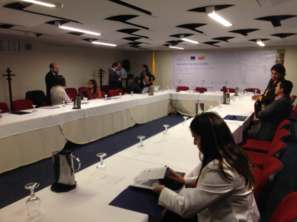 Comienzan a llegar participantes para encuentro país #Colombia #eurosocial2016 https://t.co/Q1uvP4NUQo