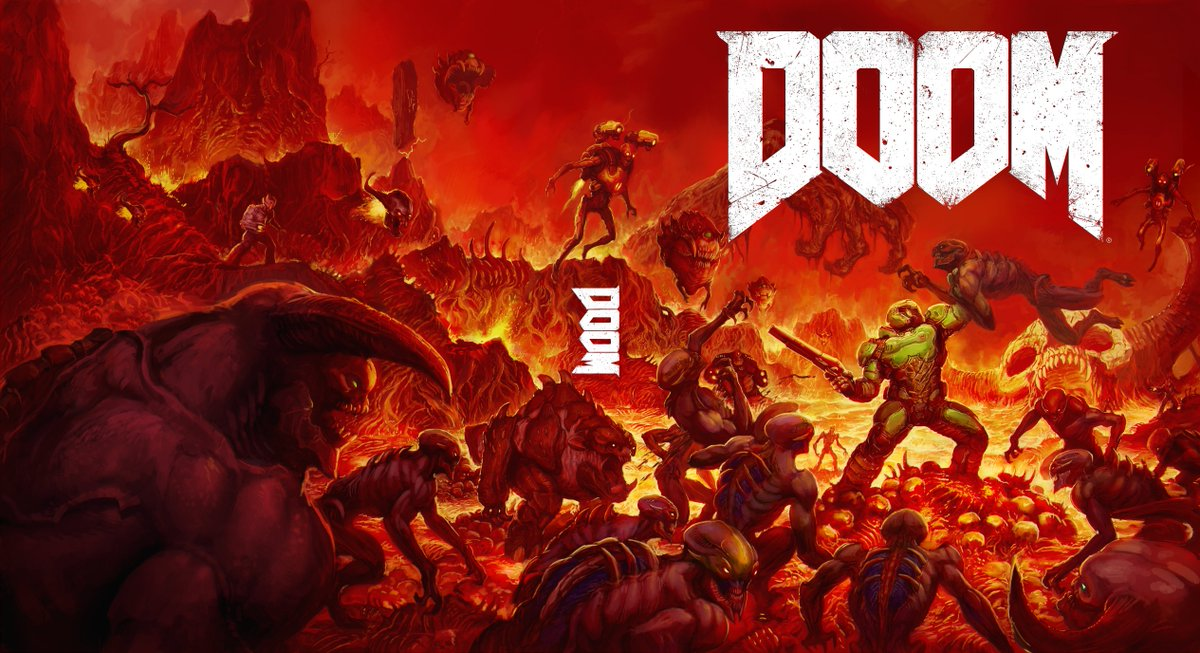 Doom 2016 [PC, PS4, Xone, Switch] - Page 2 CcoqfRVW8AArVnY