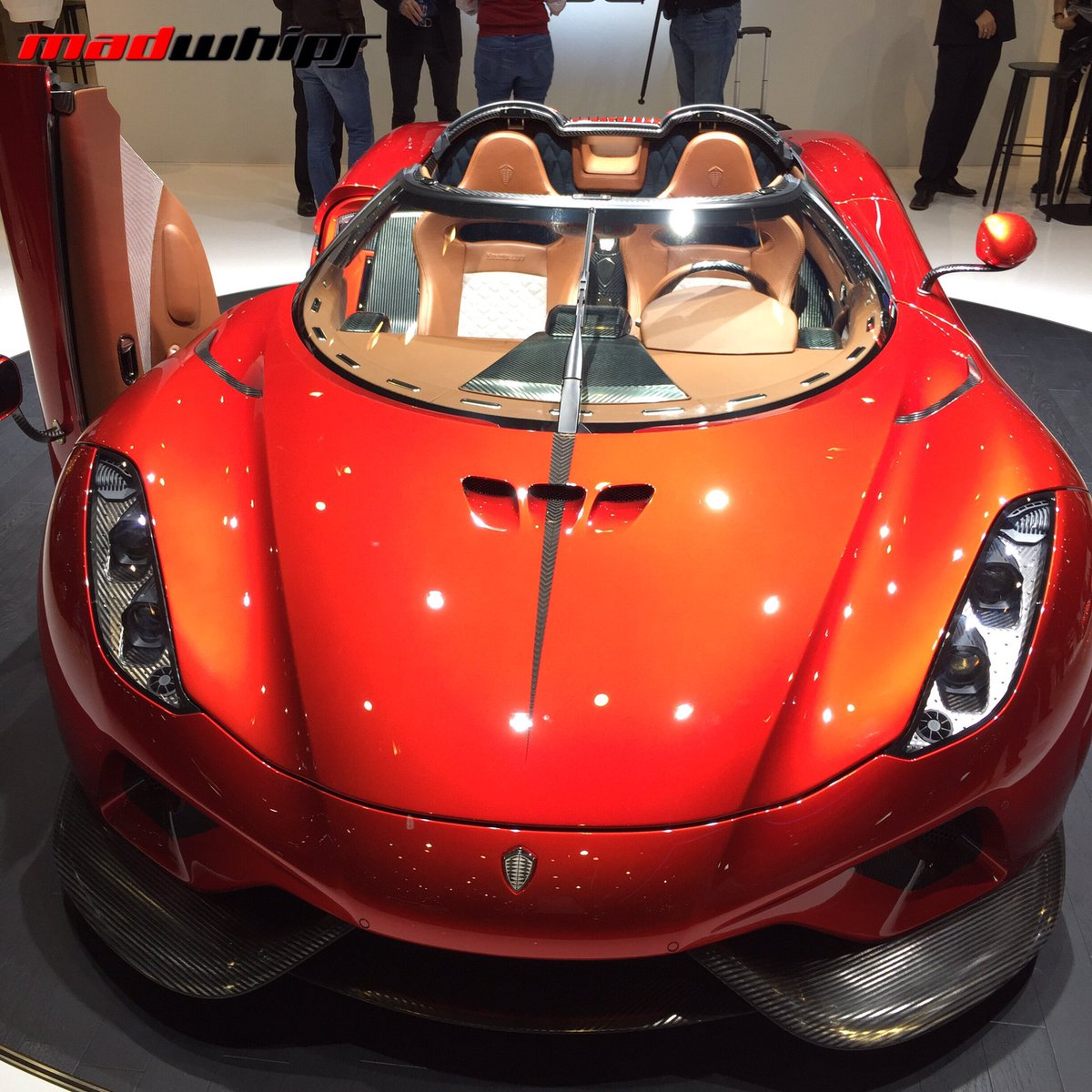 """Koenigsegg Regera: MadWhips® On Twitter: """"Production Version Of The"""