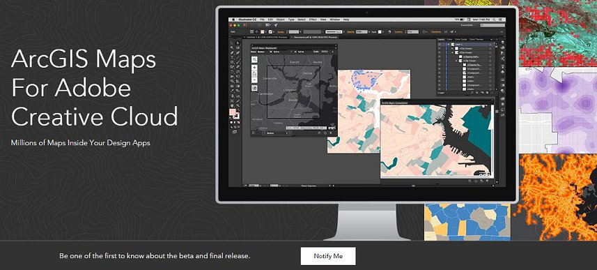 Cartography using ArcGIS Maps for Adobe Creative Cloud