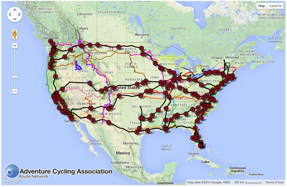 Us Bicycle Route System On Twitter Take Your Bike On At Amtrak - Us-bicycle-route-system-map