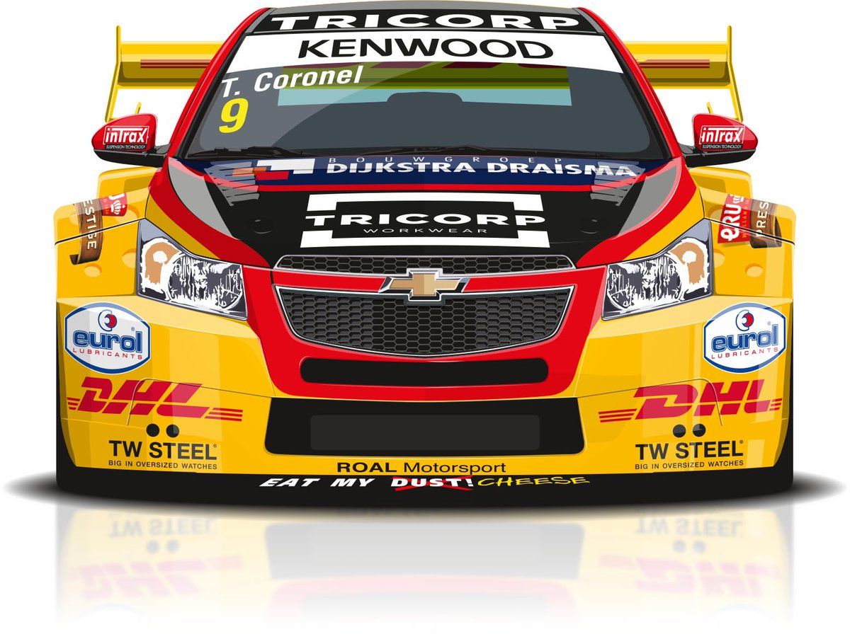 Happy! A new year of @FIA_WTCC with @TomCoronel and @RoalMotorsport Cool videos, travel the world, let's go!!! https://t.co/C3sGSjbBmq