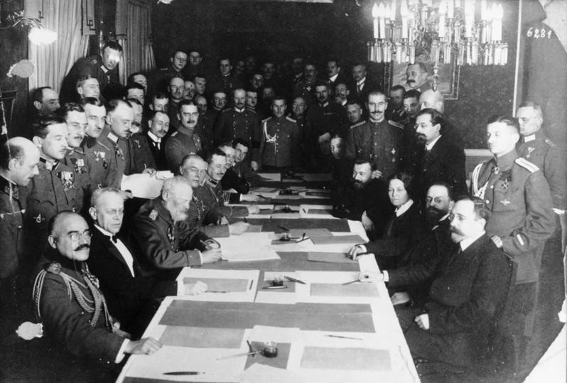 March 3,1918– Germany, Austria & Russia sign the Treaty of Brest-Litovsk ending Russia's involvement in World War I