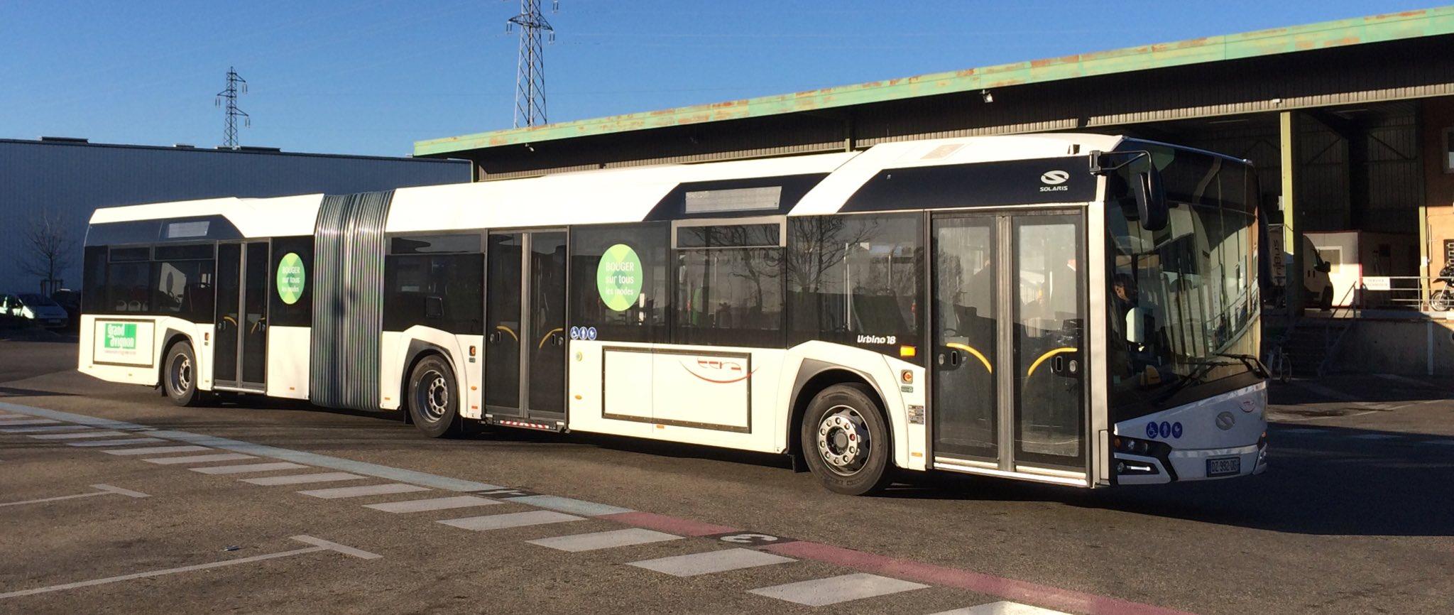 Transport mobilit urbaine afficher le - Ligne bus avignon ...