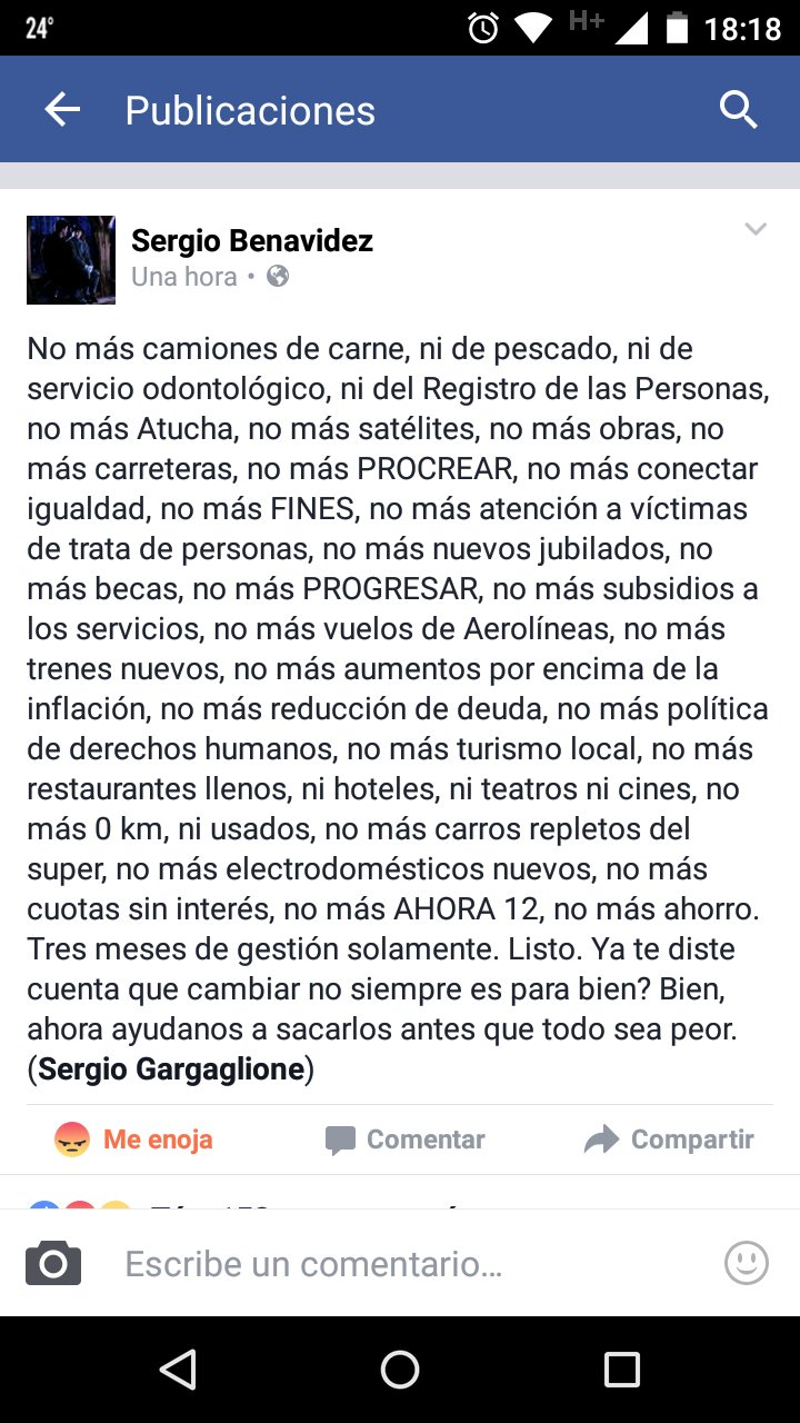 #NoMas lo único que aumenta son #DespidosEnLaEraMacri  #GeniosDelVoto https://t.co/6Fx8KvkmZV