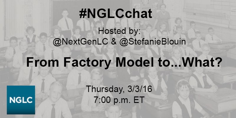 #NGLCchat will start in a few minutes! https://t.co/hCOWvVYxo8
