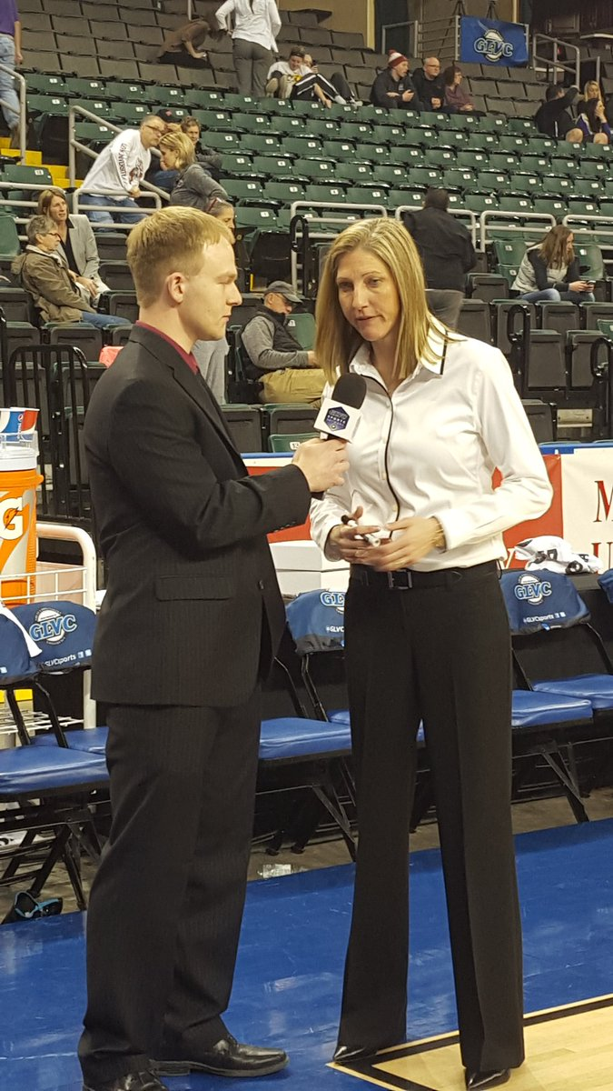 Check out @ReedBentzinger interviewing Kristen Gillespie at halftime on the #GLVCSN #extracredit #GLVCchamps https://t.co/pEfFwC758U