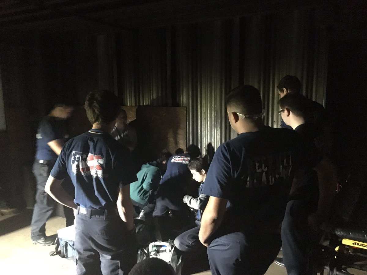 Cfisd Cte Dept On Twitter Extrication Day For Health Science