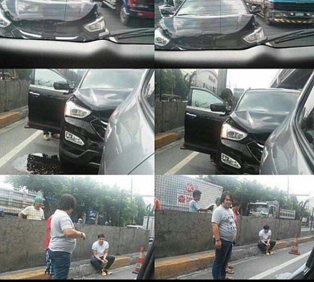 Viral News Updates: MUST SEE: Alden Richards Got Into A Car Accident!