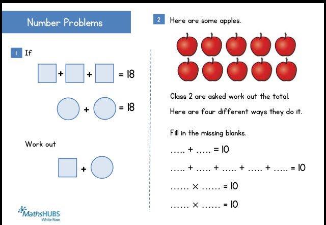 challenge math worksheets