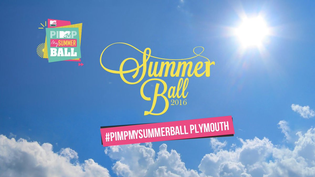 Summer Ball details launching on https://t.co/RqLNlPQIr3 on Monday #pimpmysummerball Plymouth https://t.co/HJe7jKNUT9