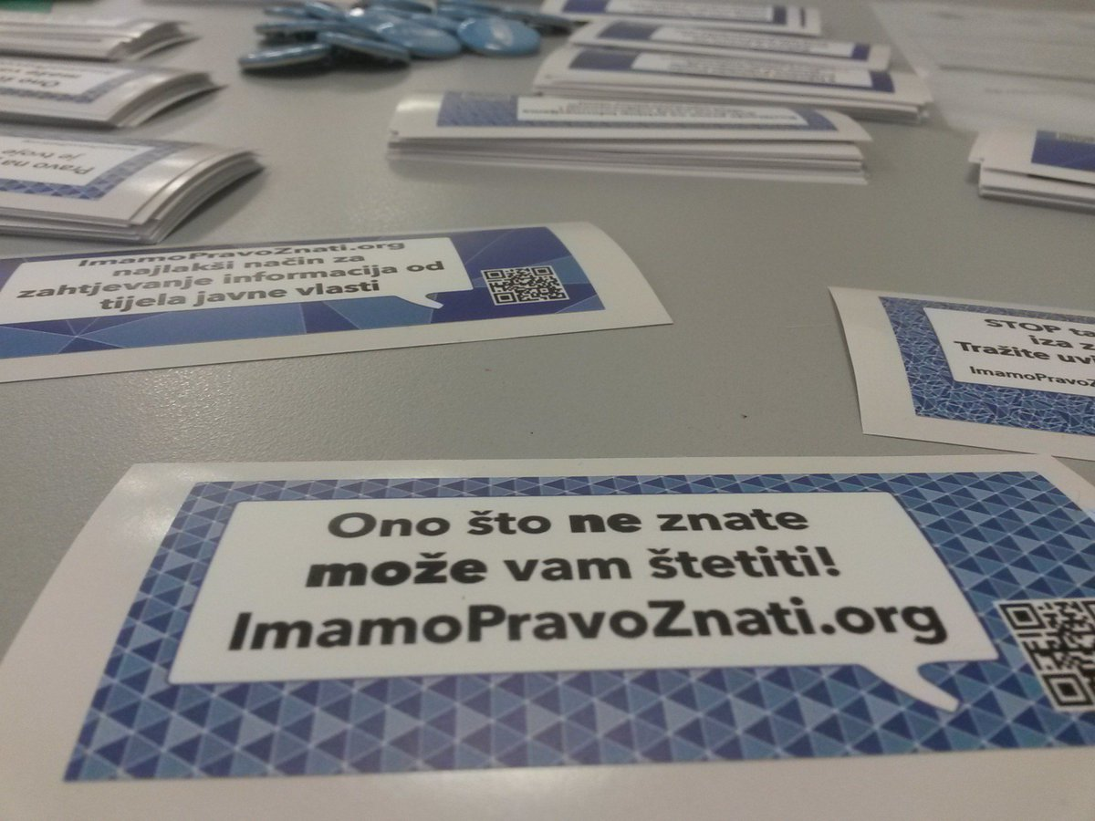#imamopravoznati #OpenDataDay #codeacross #croatia https://t.co/SGMiafZXG1