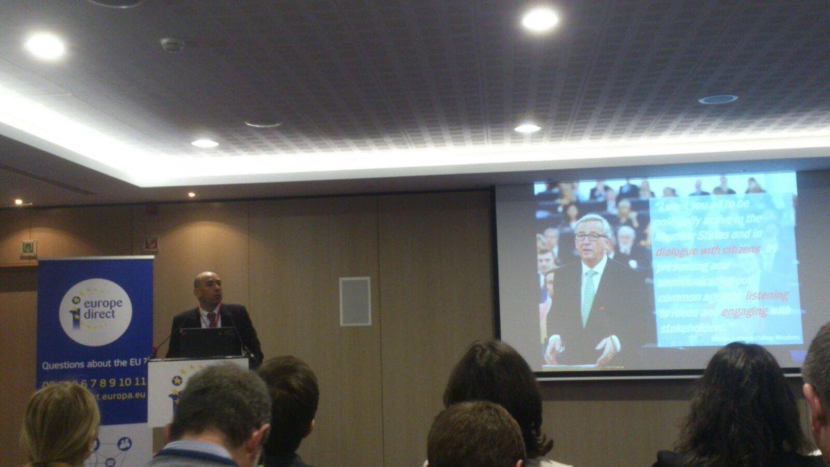 Seminario formativo 4 de marzo. Cómo llegar a los ciudadanos de manera más eficaz @EU_Commission #EDIC #Brussels https://t.co/qMfXraSoz3