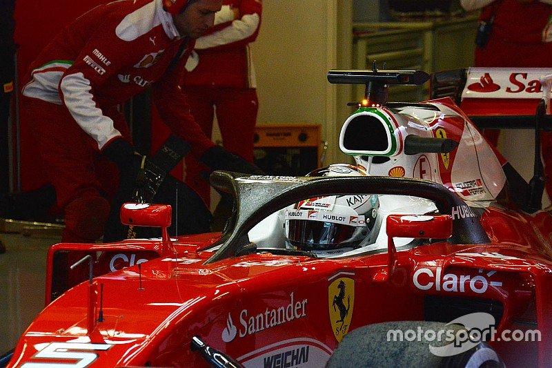 Vettel salió está ...