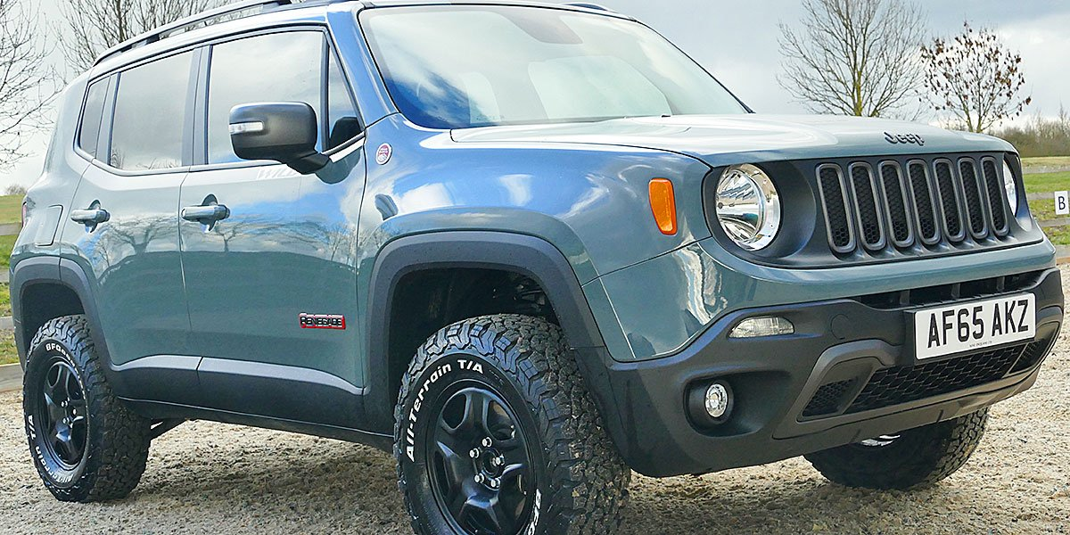 Jeep Renegade Trailhawk Lifted