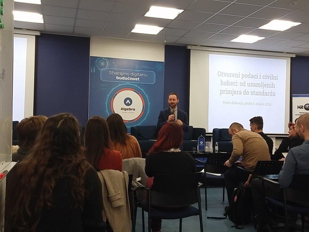 Eben Groenwald is kicking off #CodeAcross & #OpenDataDay conference in Zagreb @CodeForCroatia https://t.co/Op4svfsuNQ