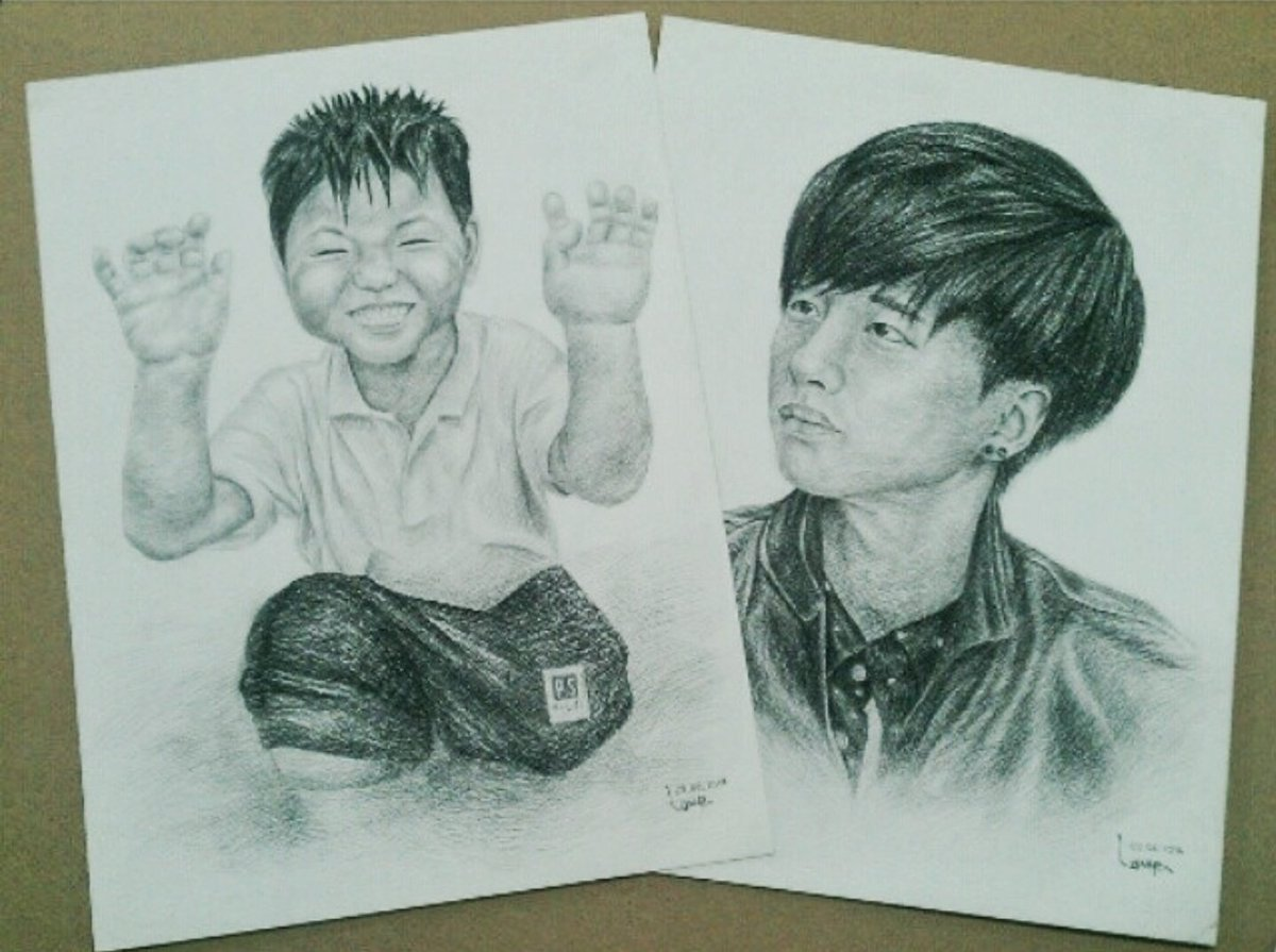 2years ago #the20sby20 #drawing #pencil #junhwan #junhoe #jinhwan #iKON #fanart #fanartikon <br>http://pic.twitter.com/rOT2P6XDD6