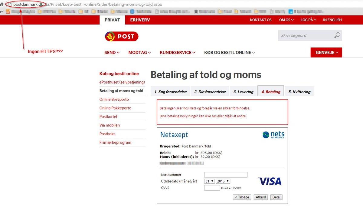 betaling af moms