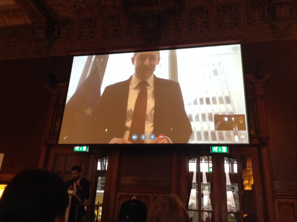 #GOW16 launch event in Amsterdam: Alexander Riedl from the Commission talking about the importance of #eSkills https://t.co/fD6dVz6yQG