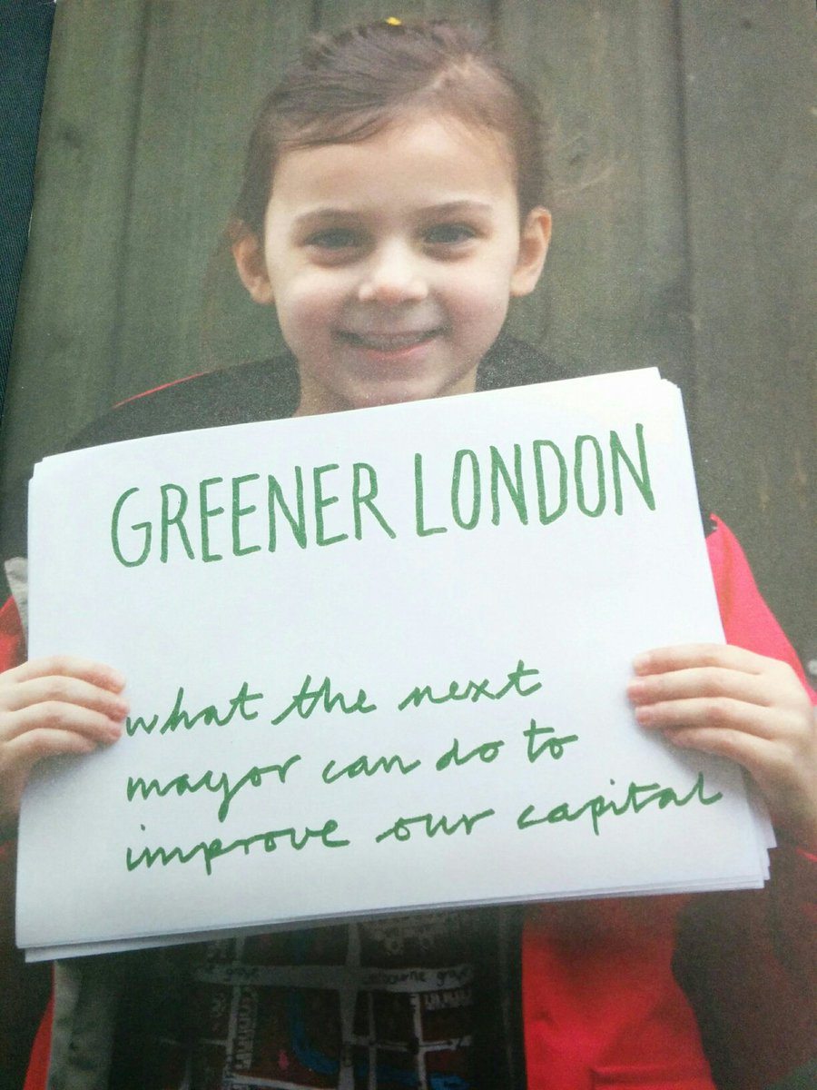 Not long now till #GreenerLondon - what's your killer question for the budding @MayorofLondon? https://t.co/4K6Y9F2G3L