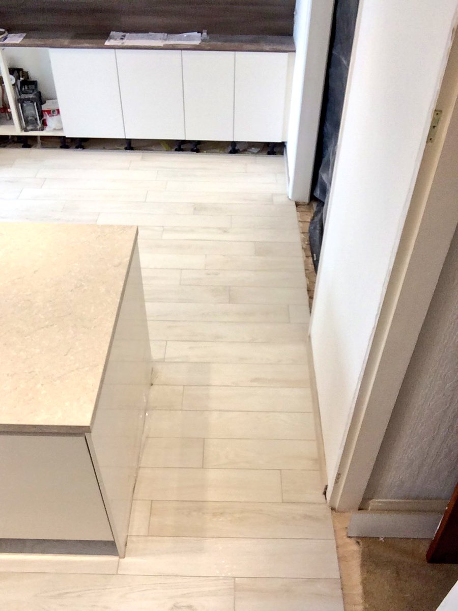 Wolstanholme tiling on twitter kitchen floor completed in lignum wolstanholme tiling on twitter kitchen floor completed in lignum larix tile from tilemart including tile skirting tilemasteradhes doublecrazyfo Image collections