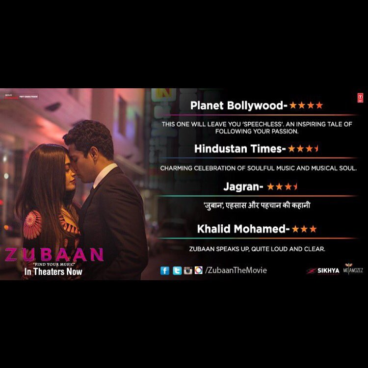 And more love for @ZubaanTheMovie . Blessings!! ❤️❤️❤️ https://t.co/eMeuDTcAMp
