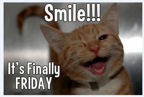 Can't help but smile on Friday... Of course, that's only after a lot of coffee. Happy Friday! #FridayFeeling https://t.co/qq2Zwv007x