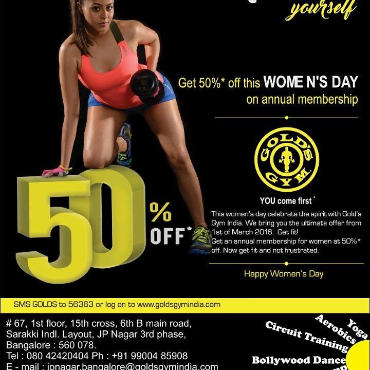 Women S Day Gym Offer | anotherhackedlife com