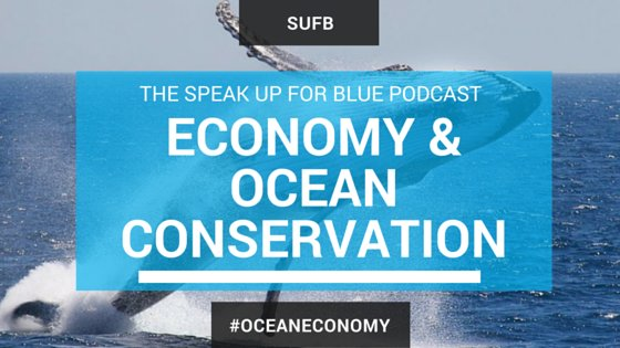 Do you know how #ocean #ecomonies play a role in #conservation? New @speakupforblue #podcast https://t.co/yicFa0GGdz https://t.co/D5CjykkdId