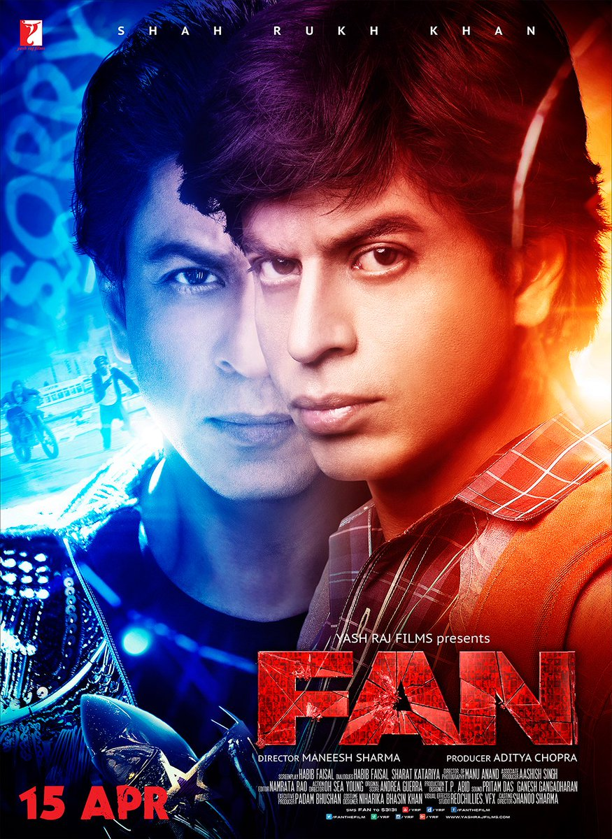 Fan (2016) 720p Desi Scr Rip – XviD – Team IcTv Exclusive
