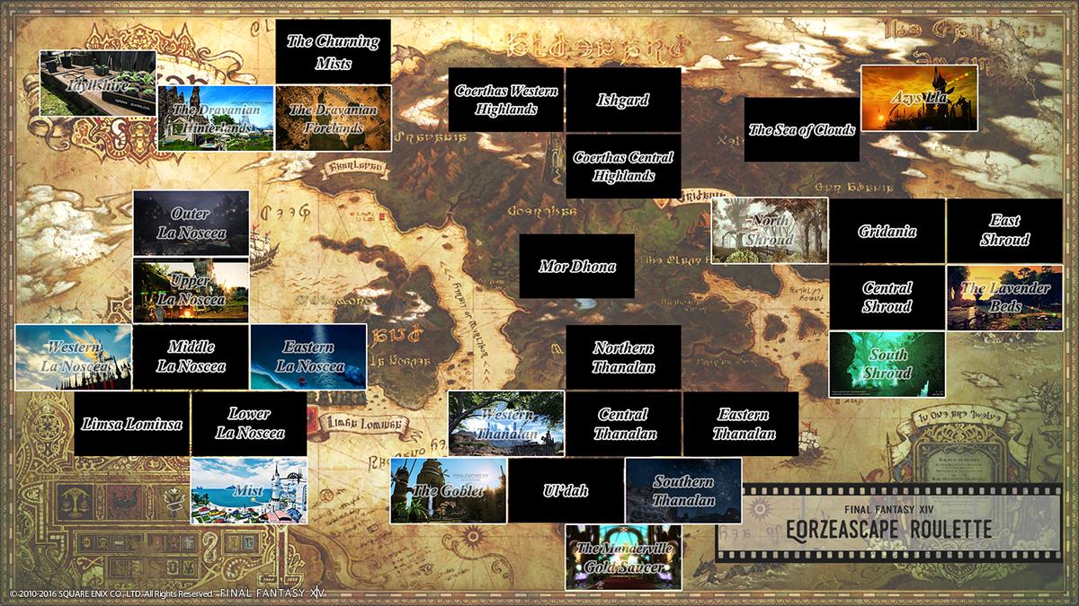ζ*ヮ)ζ <風景SSルーレット、半分が埋まりました!また進捗としてサムネイルマップを公開します!主催が1番ワクワクしております\u2026w 風景SS
