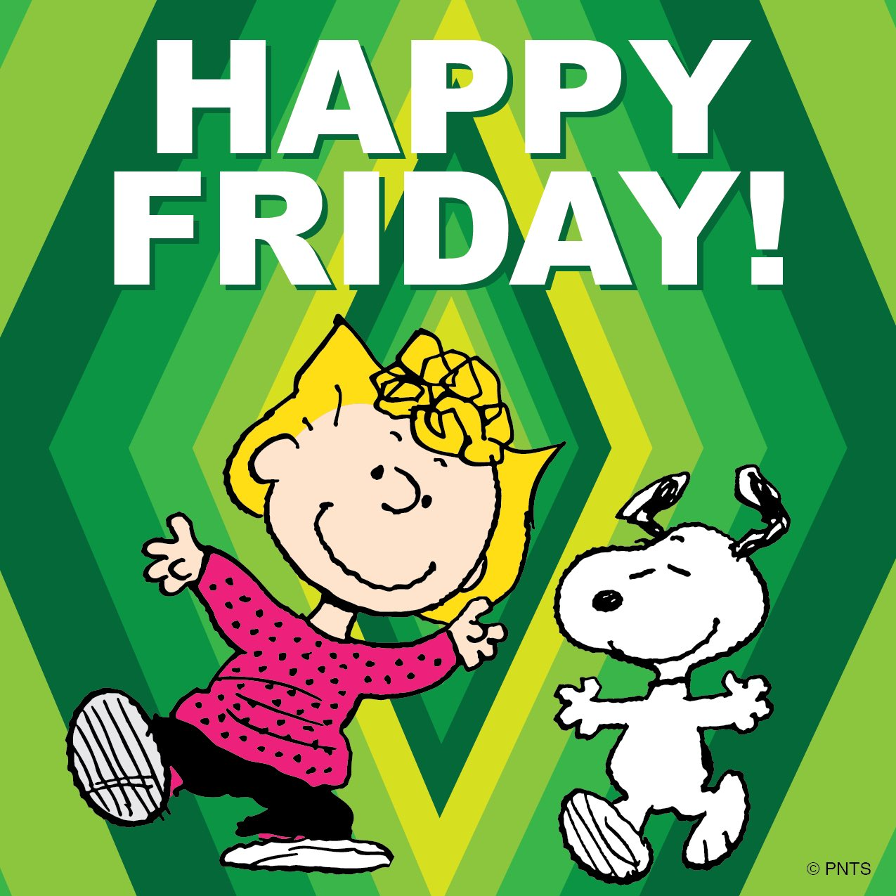 "Happy Friday: PEANUTS On Twitter: ""HAPPY FRIDAY!! ☘ Https://t.co/BI4YYNbtnE"""