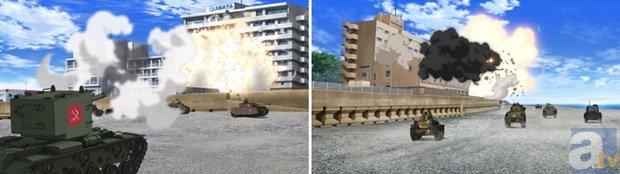 塚口サンサン劇場でのガルパンで良かった所  戦車の発砲音  戦車の重量感  肴屋、シーサイドホテルの大爆発  #garupan #ガルパン https://t.co/ahnb0kGAiU