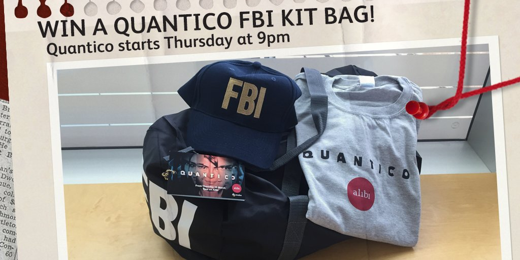 Win 1 of 10 #QuanticoUK FBI kit Bags! RT & follow us before 5pm 11/03 to enter. T&Cs: https://t.co/otVPD4mSRm https://t.co/QzLOdShFjI