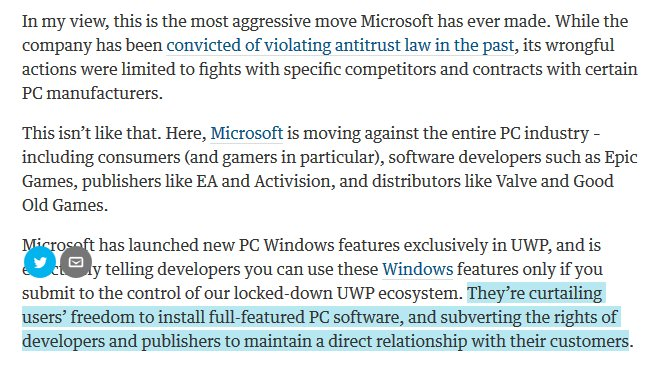 If you care abt PC games this is vital. Well said, @TimSweeneyEpic. Openness makes PC thrive https://t.co/DhqMjCDRfE https://t.co/Btf53JLiVN