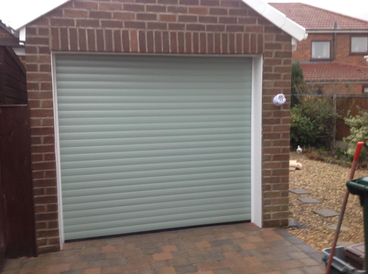 Green Garage Doors : Mh garage doors on twitter quot nice insulated roller door in