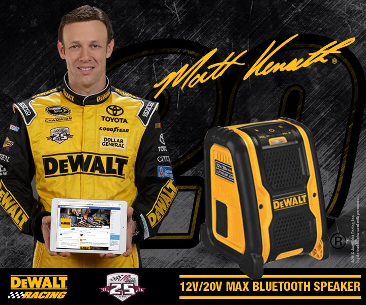 Let's kick off @mattkenseth's first @DEWALTtough race with the #DEWALTdeals giveaway! RT for your chance to win. https://t.co/KFFc8hoSKs