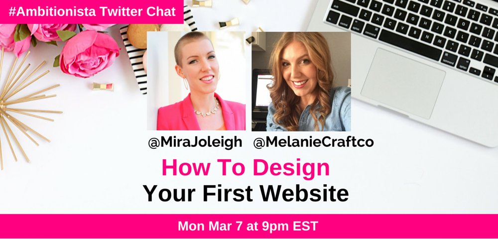 Thumbnail for #Amitionista Chat: How to Design Your First Website
