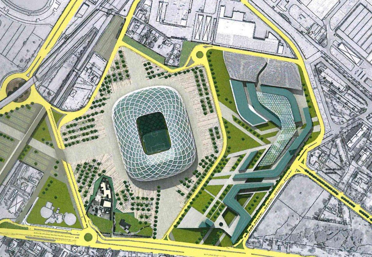 Calcio Direct On Twitter Concept Art For New Roma Stadium