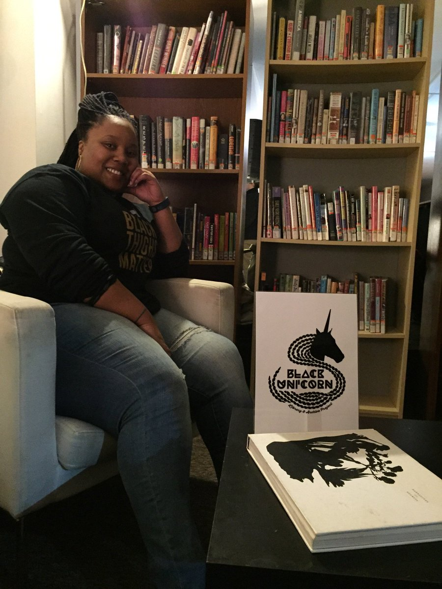 Check out Bekezela Mguni's Black Unicorn Project (feat. @carnegielibrary books) in March @BOOMCONCEPTS https://t.co/fnMaQEs1o6