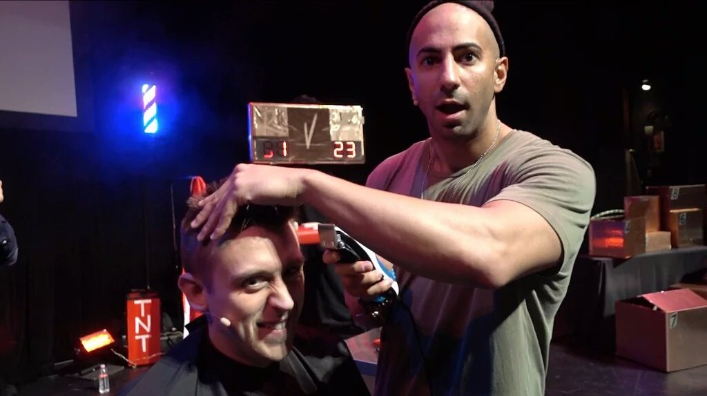 Romanatwood Haircut By Fousey